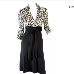 DVF Brea Wrap Dress Size 6